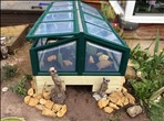 Jenny's accessible mini Greenhouse set-up - click to enlarge
